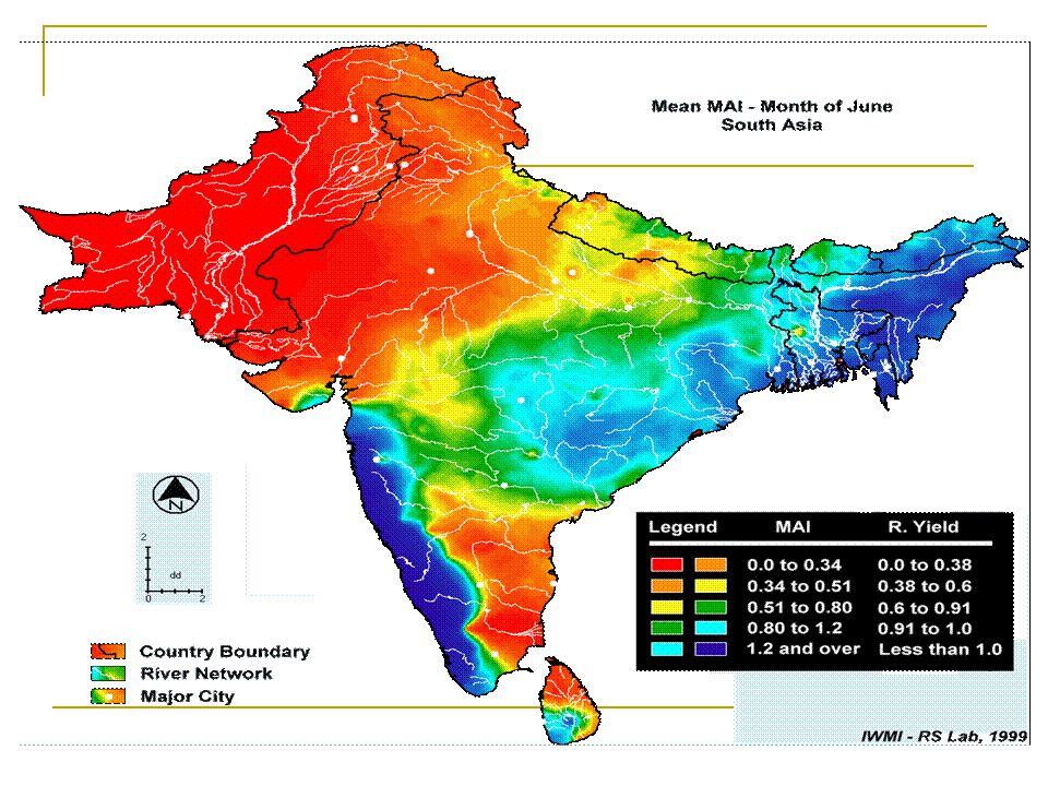 Lower Krishna River Gauge Flow