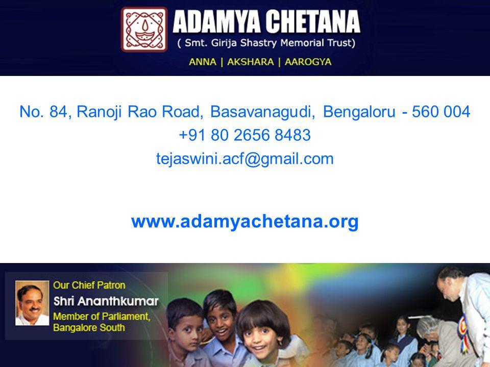 www.adamyachetana.org No.