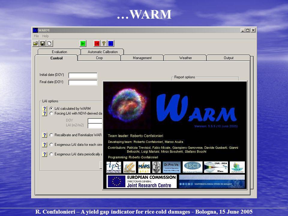 …WARM