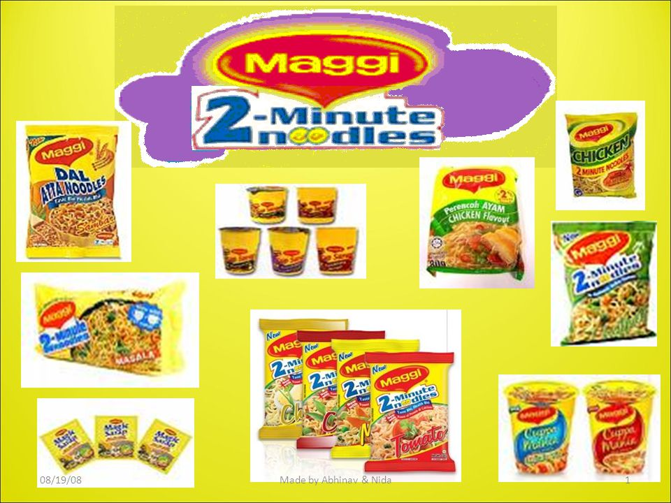 Why Maggi Purpose Agenda : Origin  Few facts  Brands  Problems & Competition  STPD  SWOT  Few Questions  Market research Launched in India in 1983.