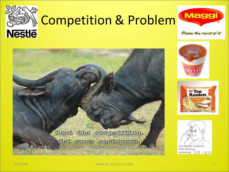 Competition & Problem 08/19/086Made by Abhinav & Nida