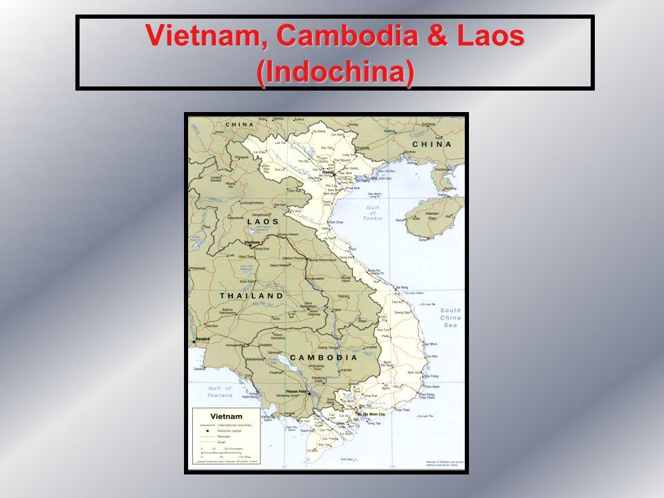 Vietnam, Cambodia & Laos (Indochina)