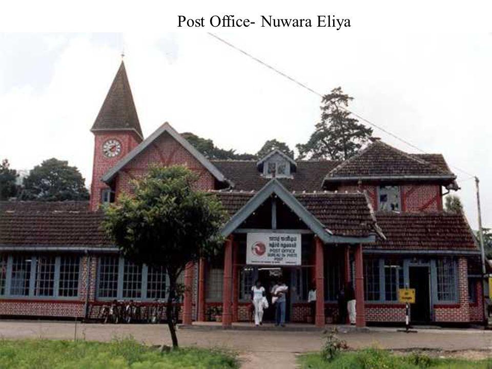 NuwaraEliya - known as Little England