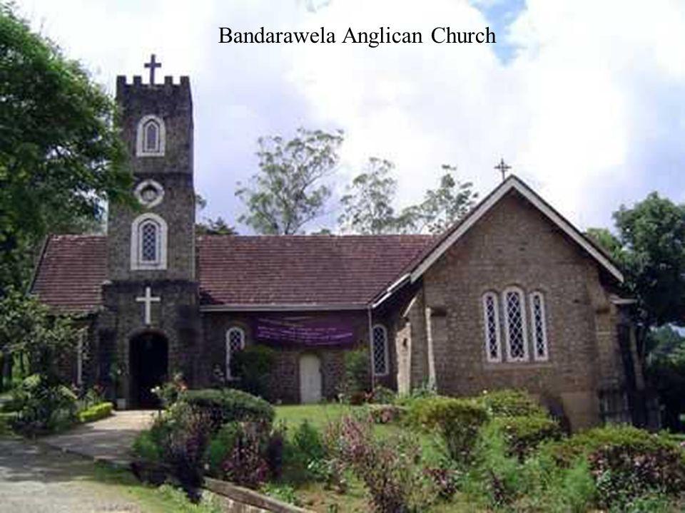 Holy Trinity Anglican church Interior NuwaraEliya