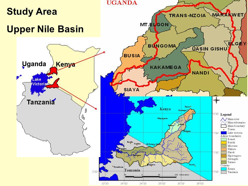 Study Area Upper Nile Basin