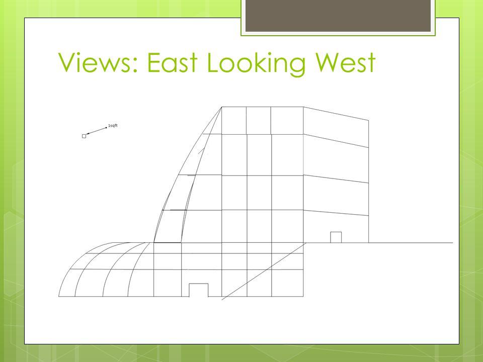 Views: East Looking West