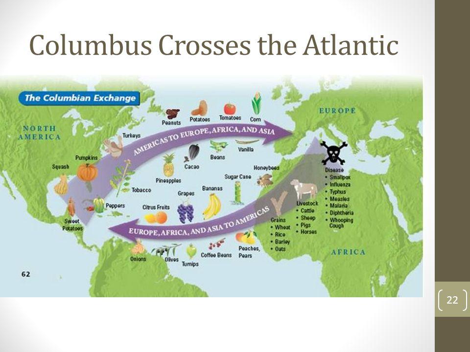 Columbus Crosses the Atlantic 22