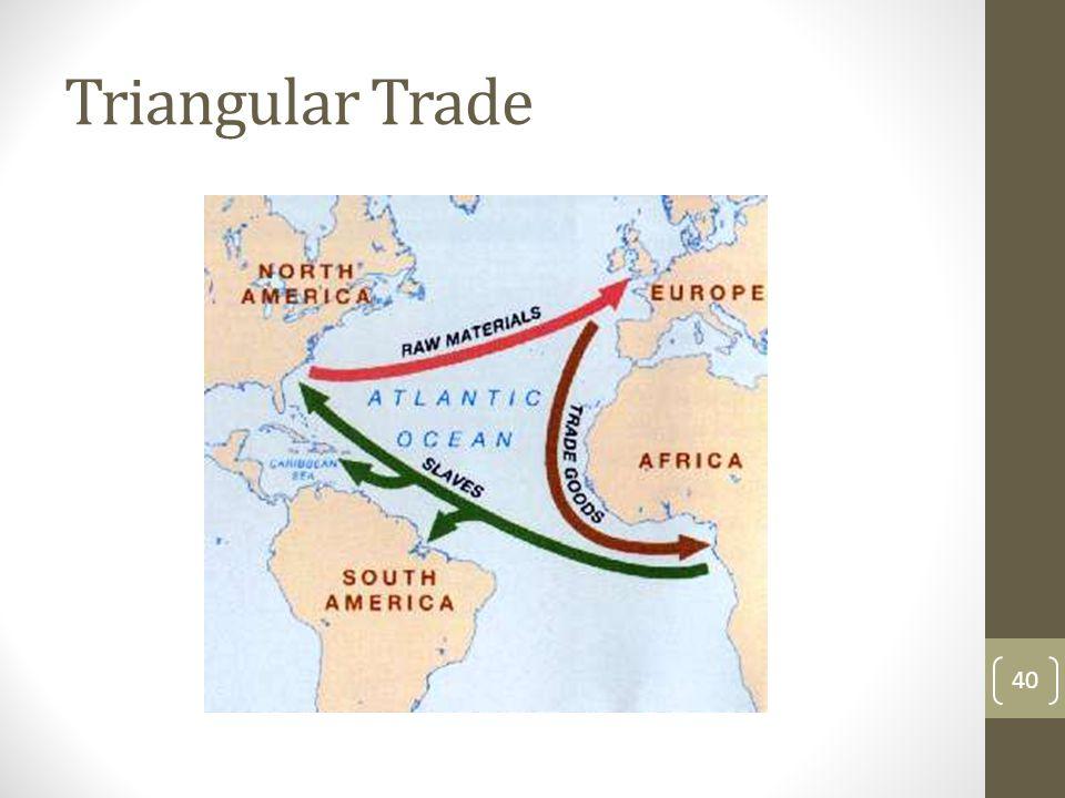 Triangular Trade 40