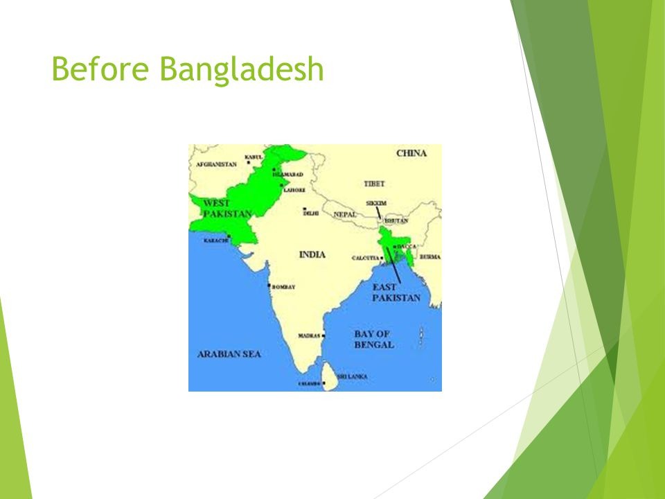 Before Bangladesh