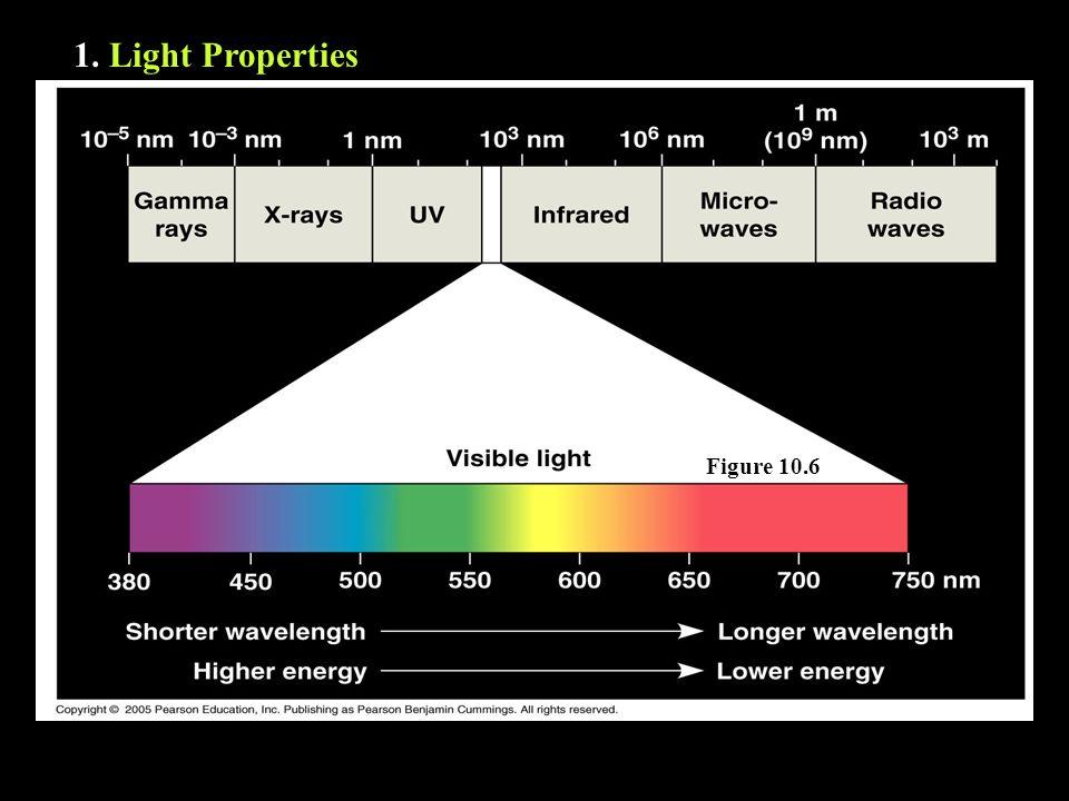 1. Light Properties Figure 10.6