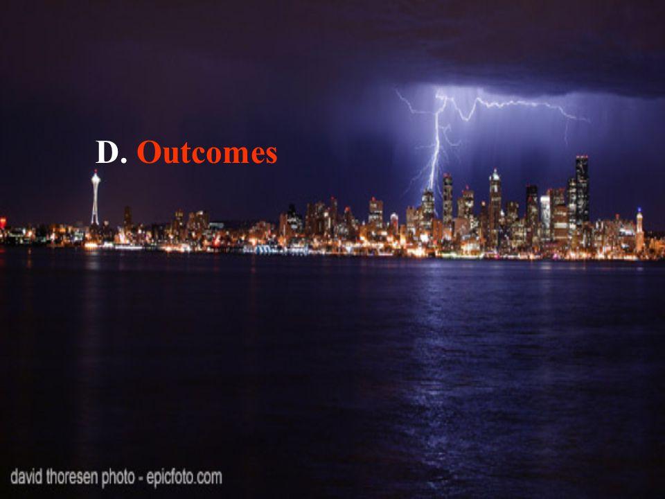 D. Outcomes