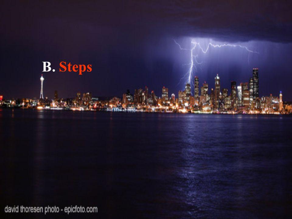 B. Steps