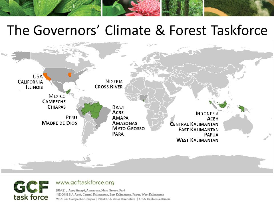 The Governors' Climate & Forest Taskforce