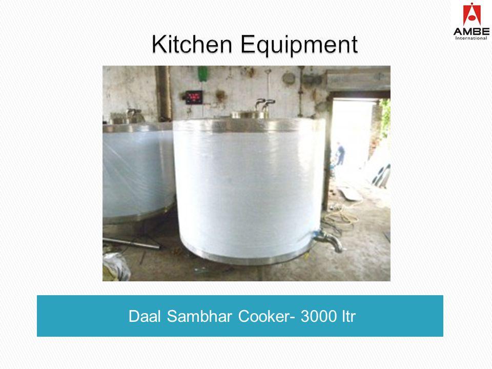 Daal Sambhar Cooker- 3000 ltr