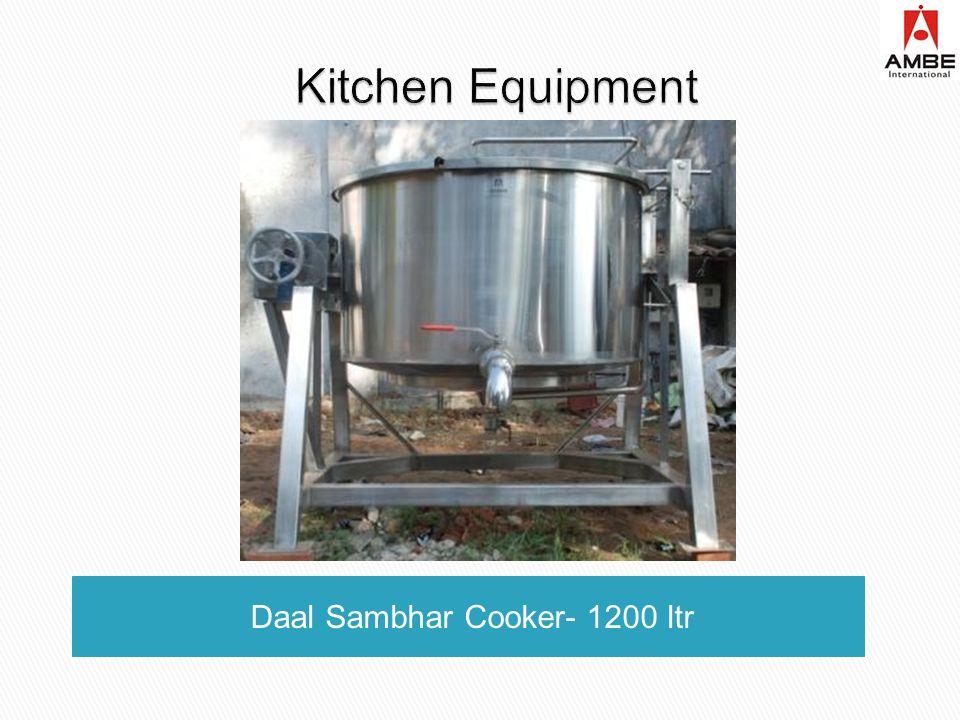 Daal Sambhar Cooker- 1200 ltr