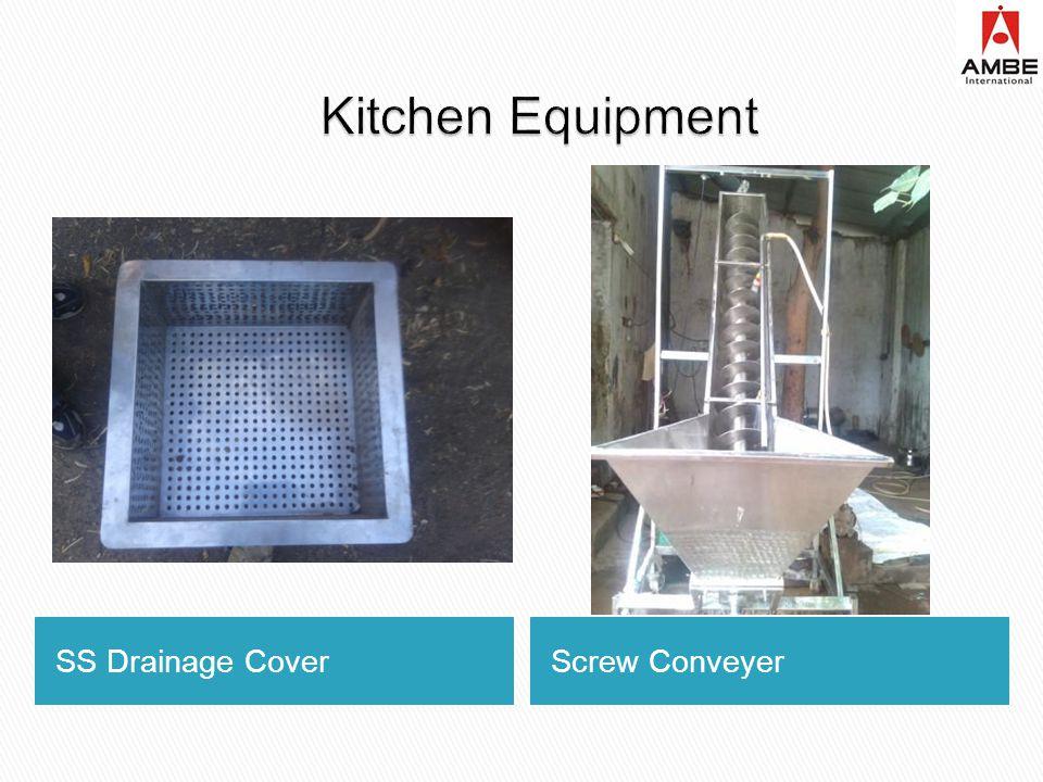 SS Drainage CoverScrew Conveyer