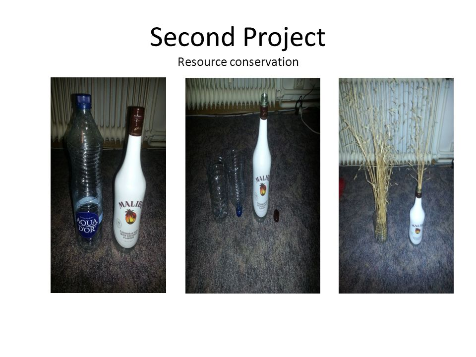 Second Project Resource conservation