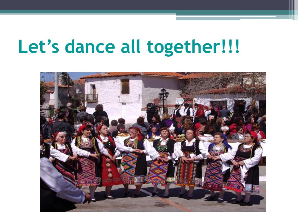 Let's dance all together!!!