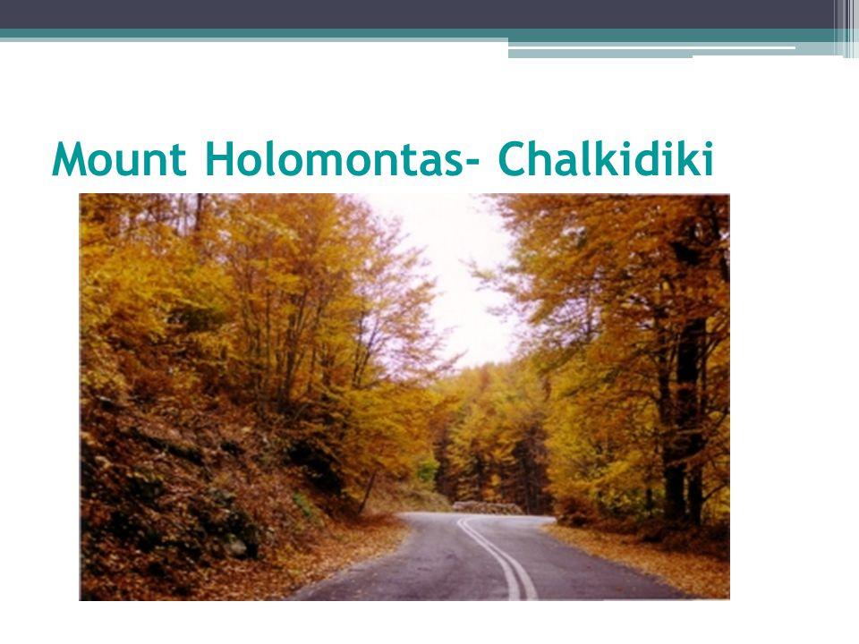 Mount Holomontas- Chalkidiki