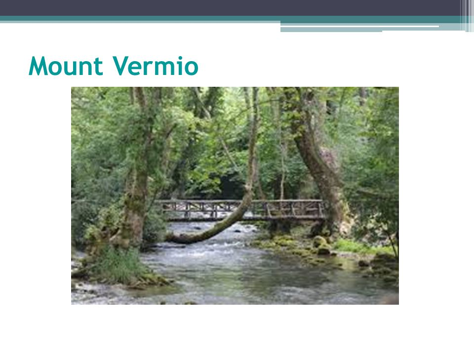 Mount Vermio
