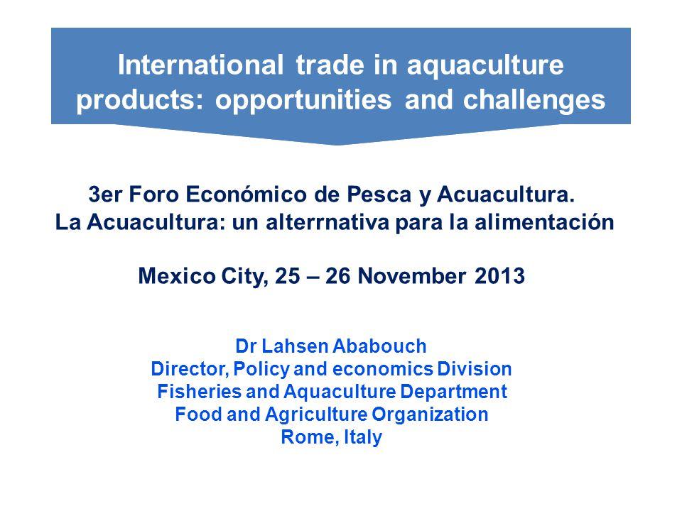 3er Foro Económico de Pesca y Acuacultura.