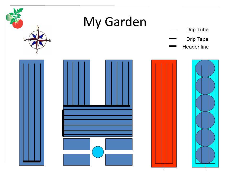 My Garden Header line Drip Tape Drip Tube