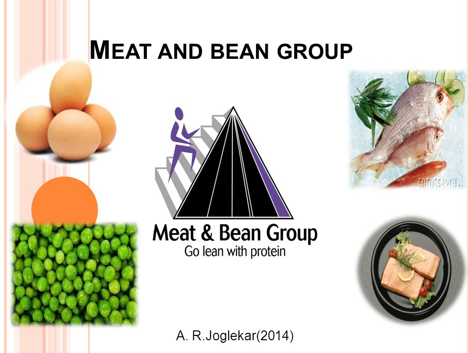 M EAT AND BEAN GROUP A. R.Joglekar(2014)
