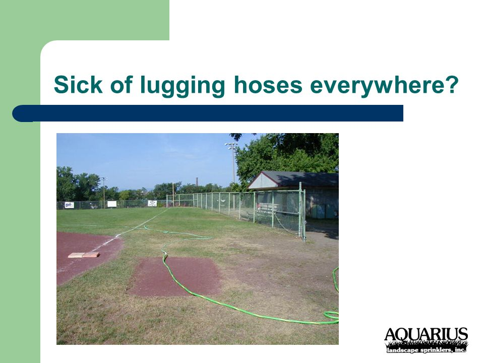 Athletic Fields will be the BEST that they can be!