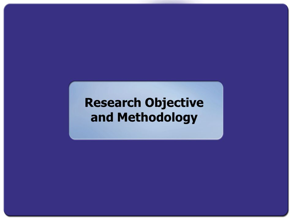Research Objective and Methodology
