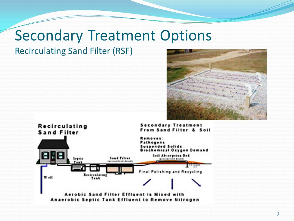 Secondary Treatment Options Extended-Air Activated Sludge Plant 10