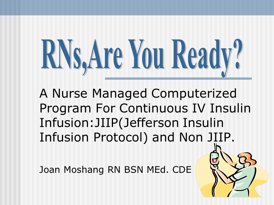 CIII Program Content Indications for JIIP and NON-JIIP Physician,Nurse and Pharmacy responsibilities.