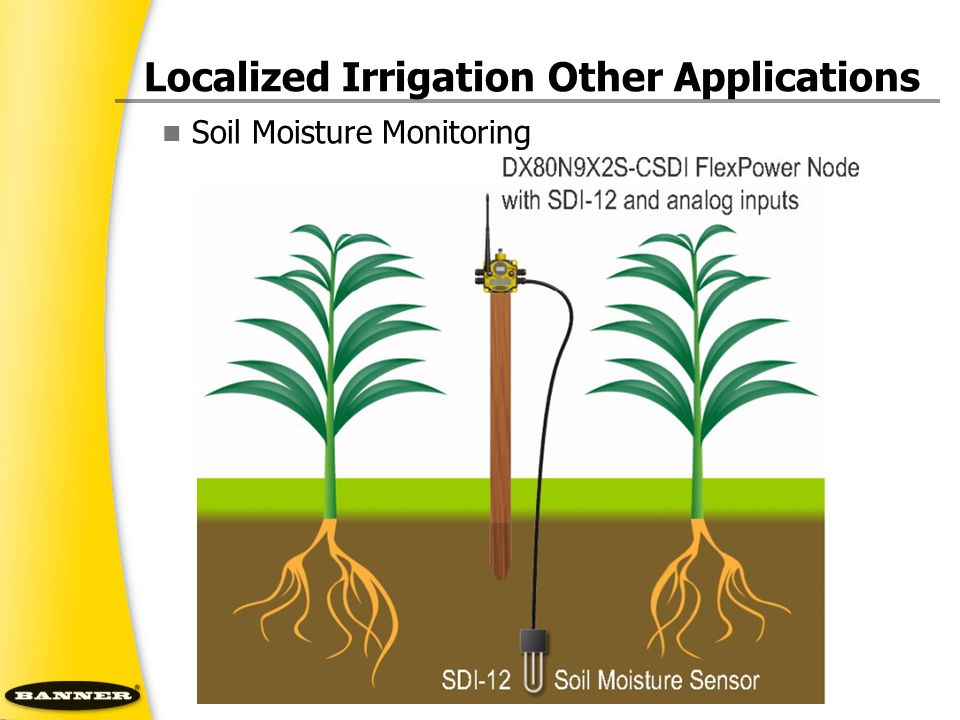 Soil Moisture Monitoring Localized Irrigation Other Applications