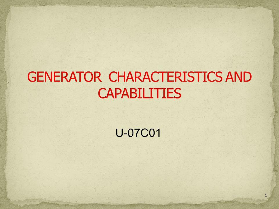 1 U-07C01