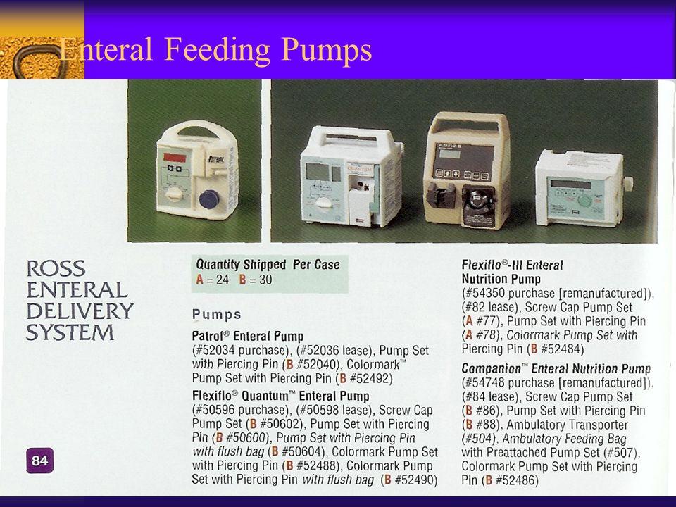Enteral Feeding Pumps