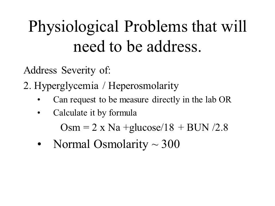 Address Severity of: 3.