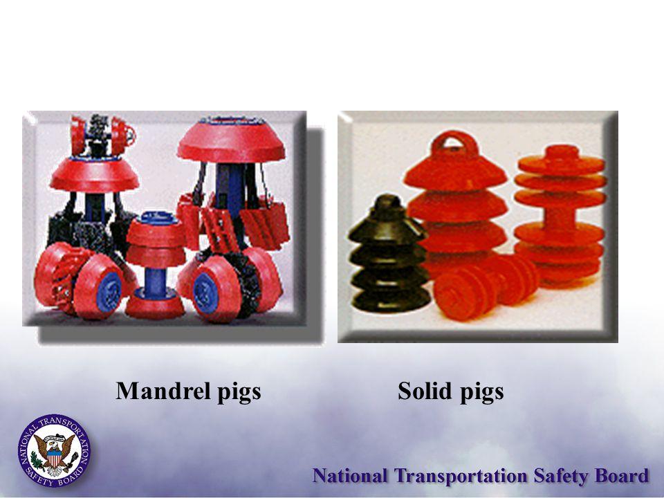 Solid pigsMandrel pigs