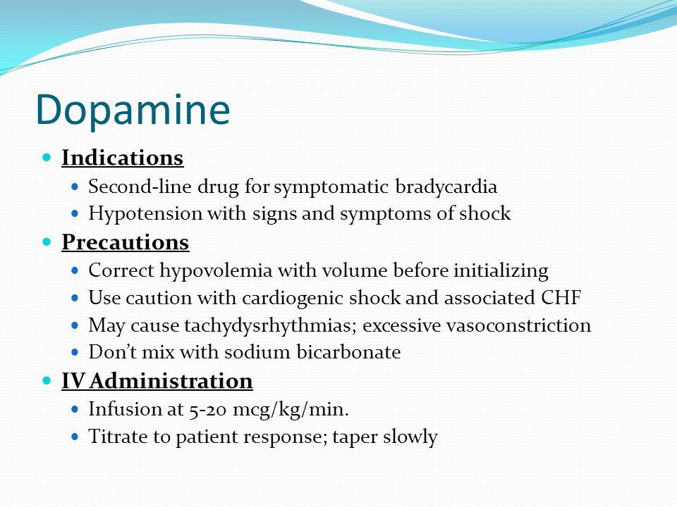 Epinephrine Mechanism of Action Stimulates adrenergic receptors and is not dose dependent like dopamine.