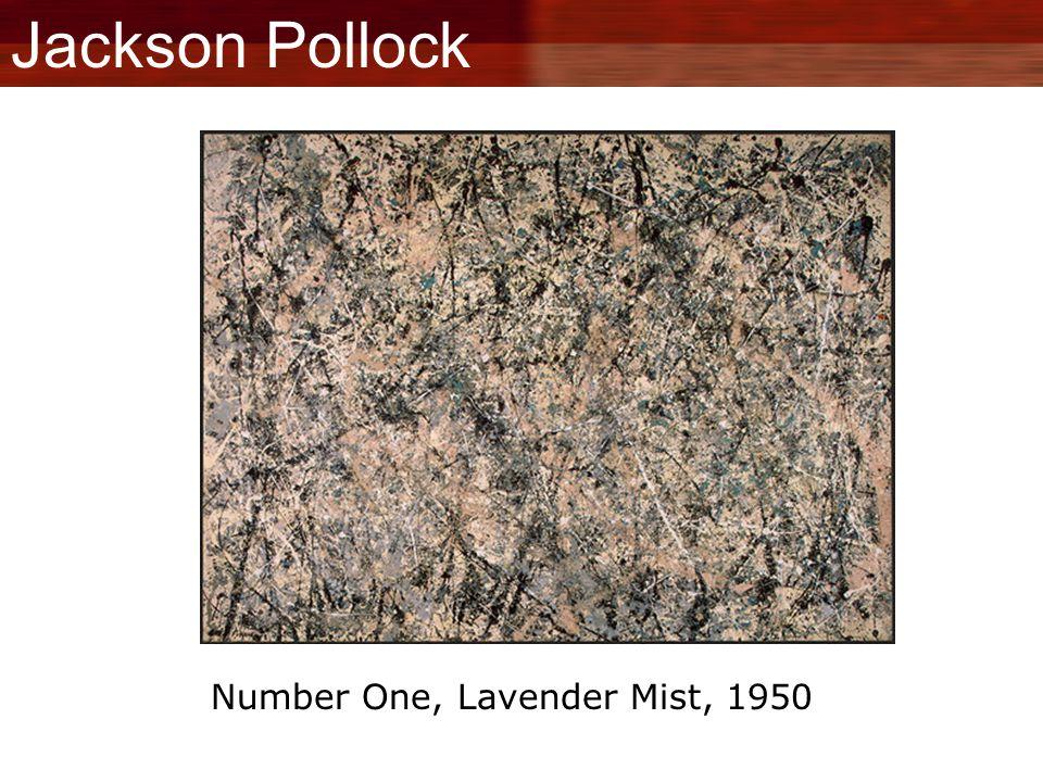 Jackson Pollock Number One, Lavender Mist, 1950