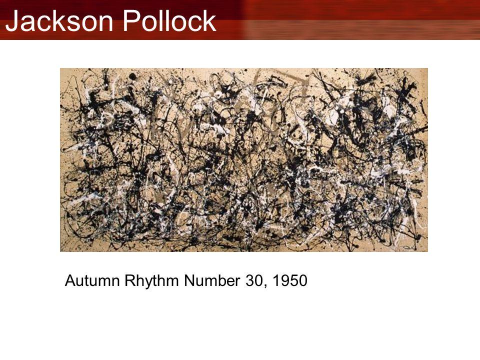 Jackson Pollock Autumn Rhythm Number 30, 1950