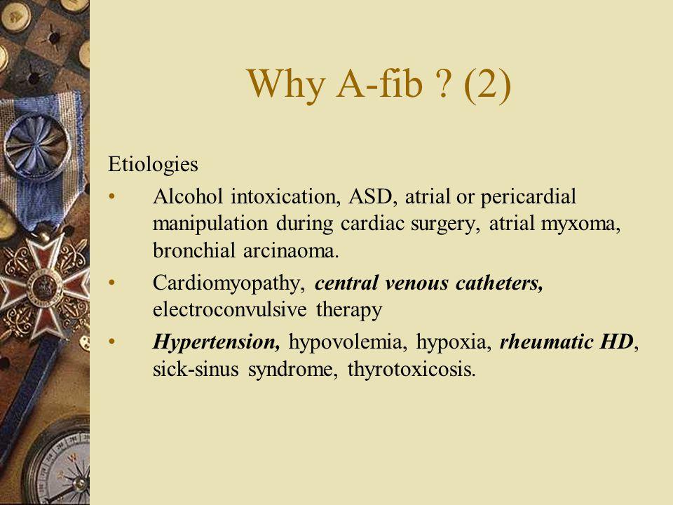 Why A-fib .