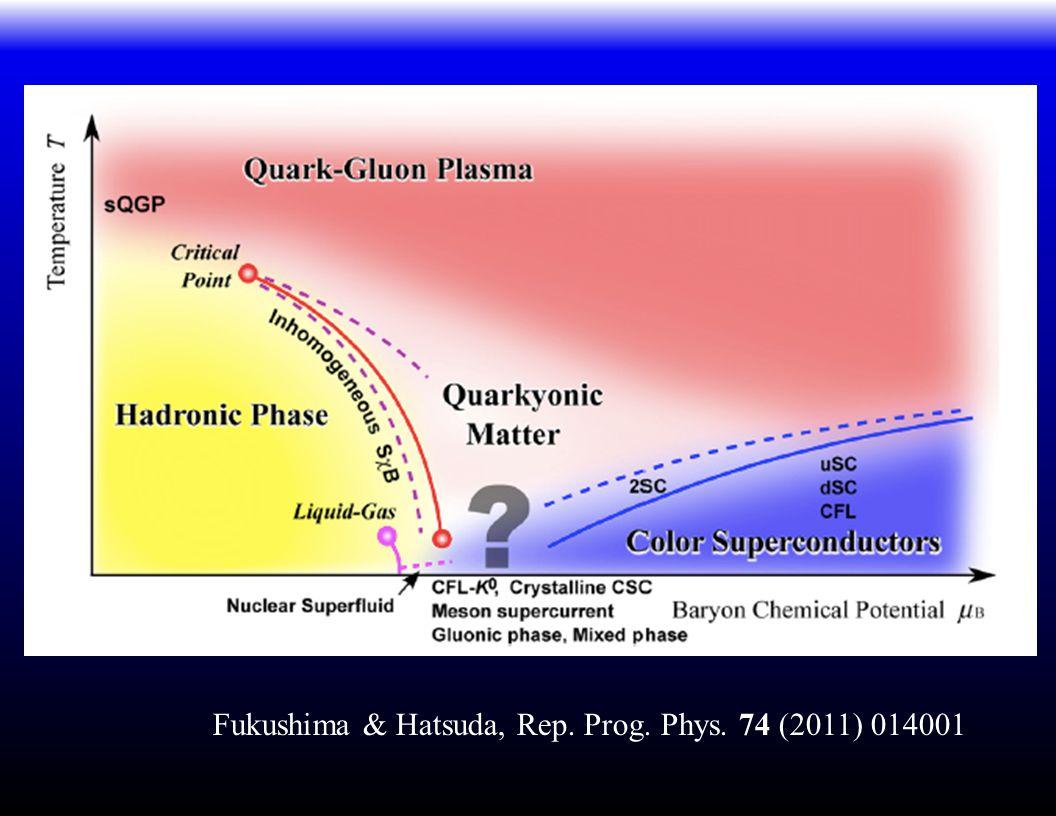 Fukushima & Hatsuda, Rep. Prog. Phys. 74 (2011) 014001