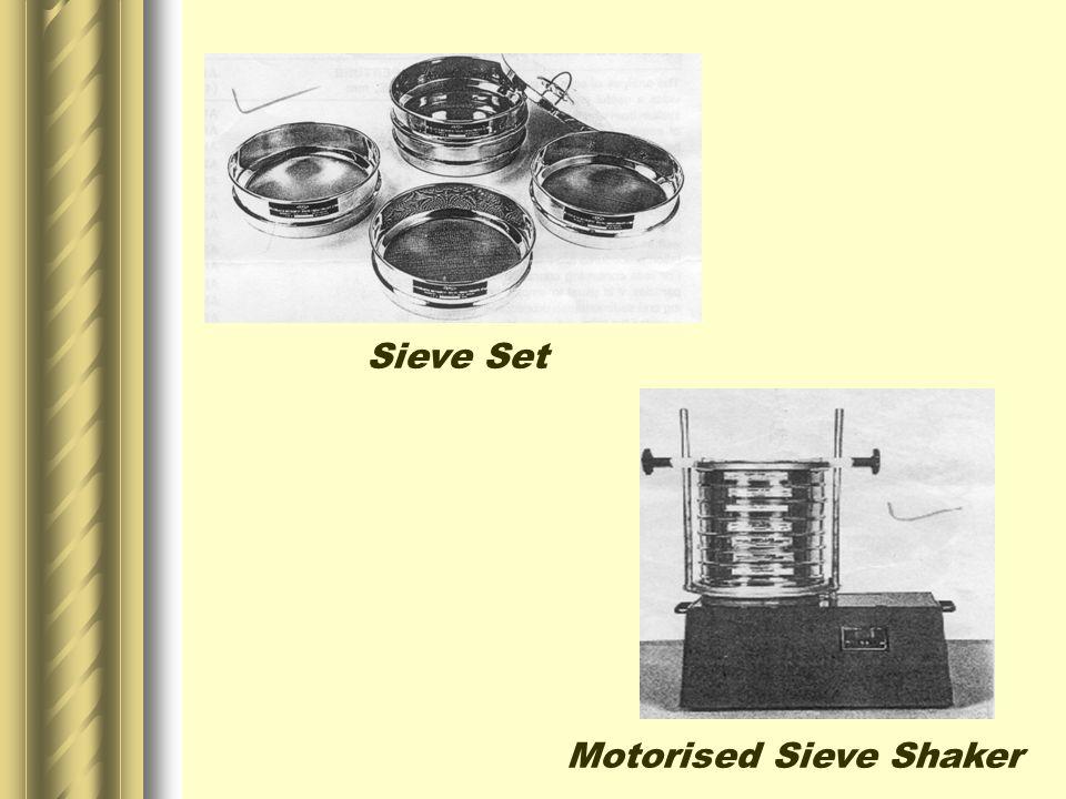 Sieve Set Motorised Sieve Shaker