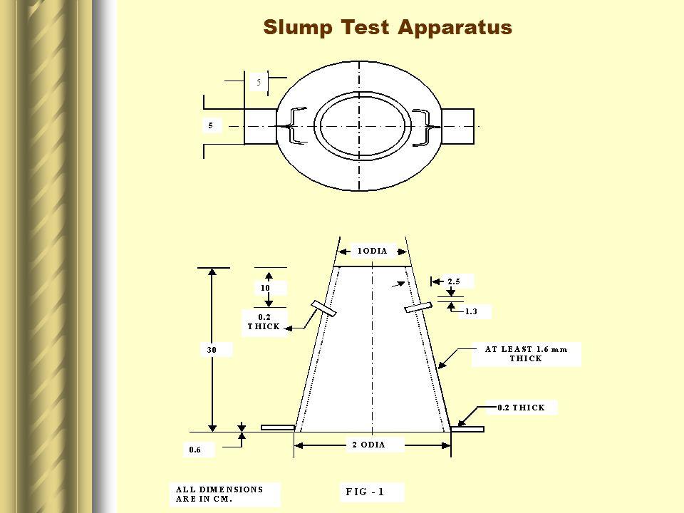 5 Slump Test Apparatus