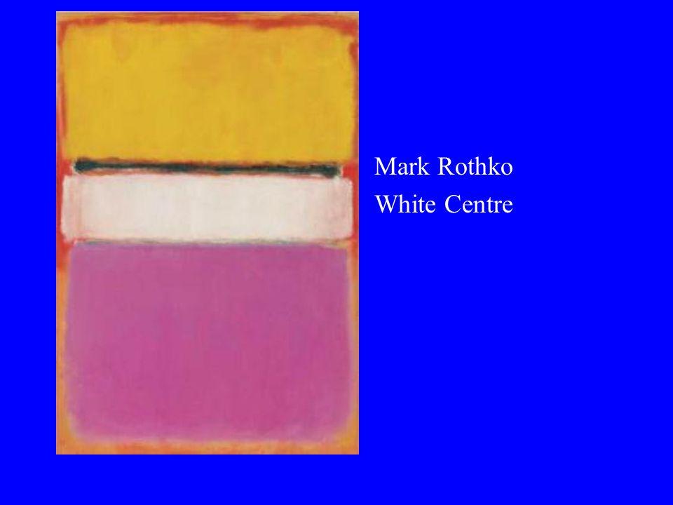 Mark Rothko White Centre