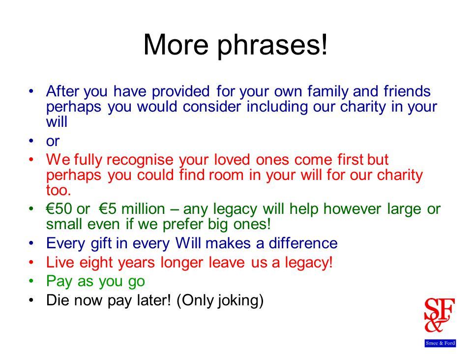 More phrases.
