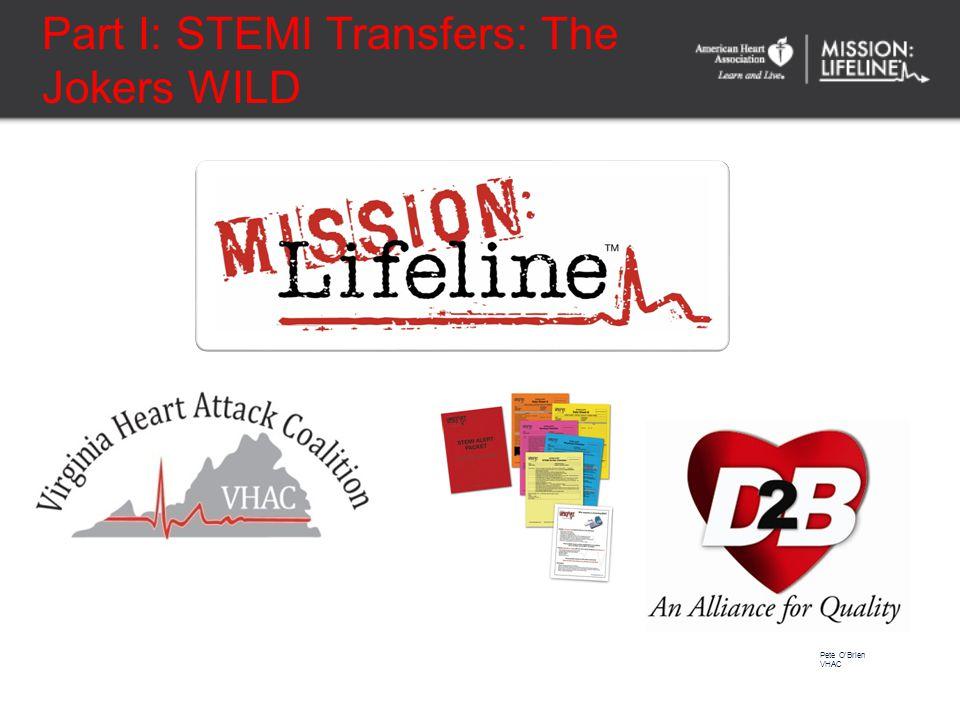Part II: STEMI Fireside Chat Dr. Mike Kontos Dr. Pete O'Brien Dr. David R Burt