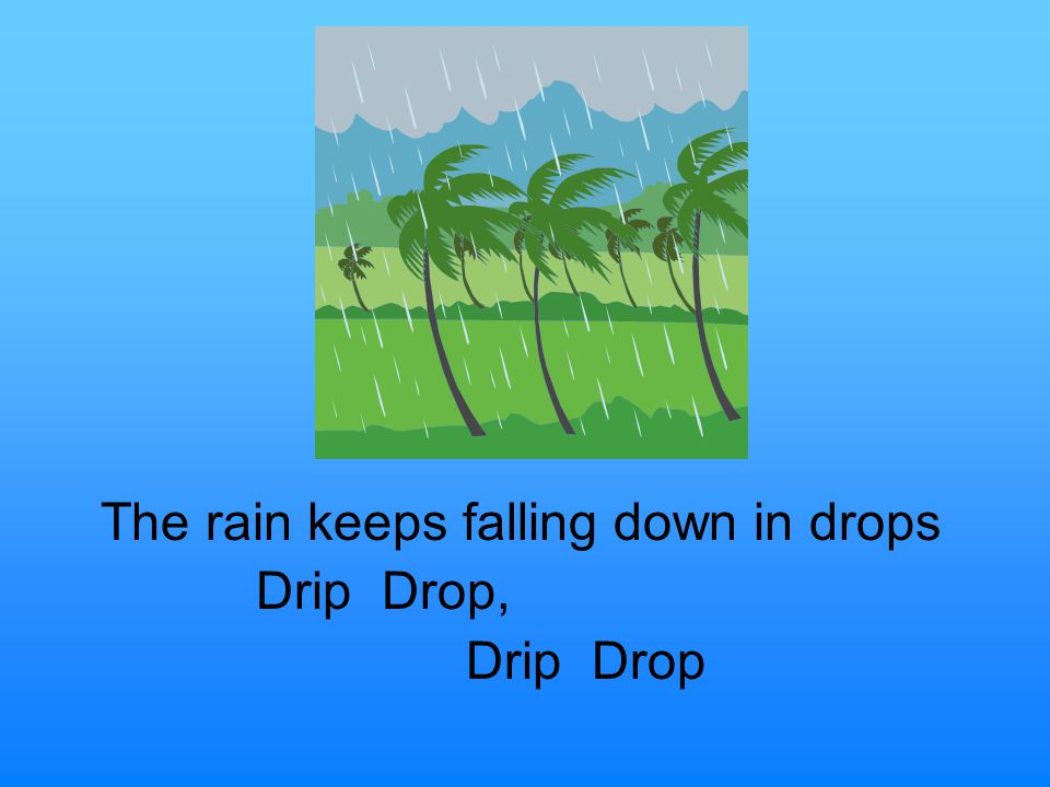 The Water Cycle Song To the tune of The Ants Go Marching By Ms. Simon
