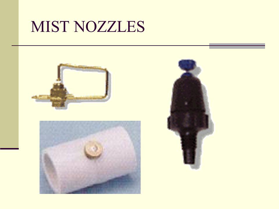 MIST NOZZLES