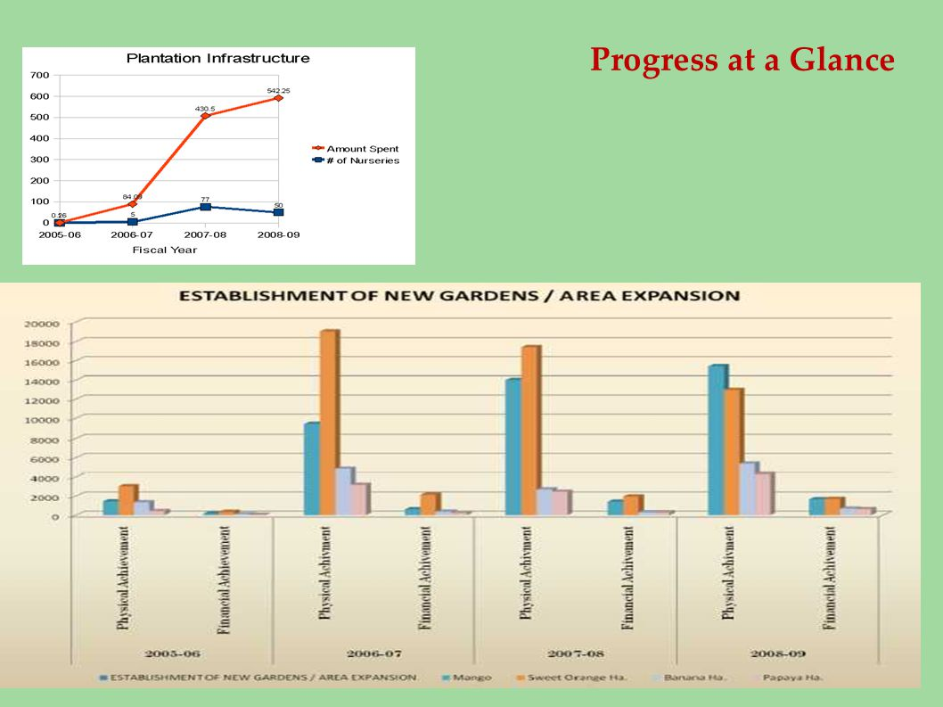 Progress at a Glance