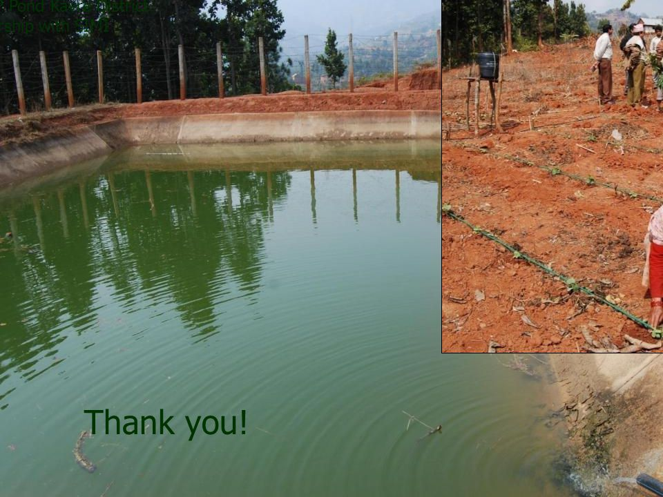 Thank you! DOI/NITP Pond Kavre District in partnership with SIMI